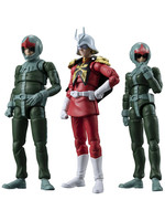 Mobile Suit Gundam G.M.G. - Principality of Zeon Army Soldiers 3-Pack