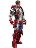 Iron Man 2 - Tony Stark (Mark V Suit Up Version) MMS - 1/6