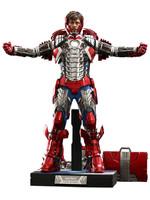 Iron Man 2 - Tony Stark (Mark V Suit Up Version) Deluxe MMS - 1/6