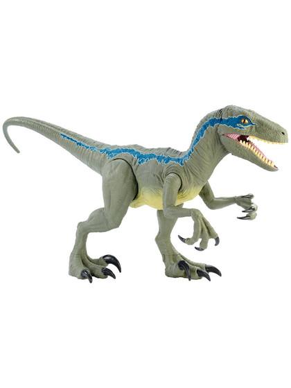 Jurassic World: Dino Rivals - Super Colossal Velociraptor Blue