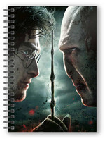 Harry Potter - Harry Potter vs Voldemort Notebook with 3D-Effect