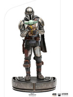 Star Wars: The Mandalorian - The Mandalorian and Grogu Art Scale Statue