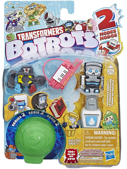 Transformers Botbots Series 2 - Backpack Bunch (ver. 2)