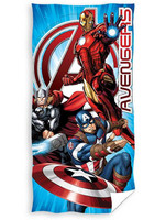 Avengers - Captain America, Iron Man and Thor Beach Towel