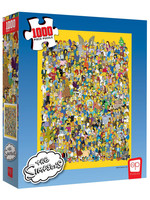 Simpsons - Cast of Thousands Jigsaw Puzzle (1000 pieces)