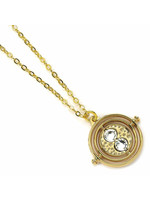 Harry Potter - Fixed Time Turner Pendant & Necklace (gold plated)
