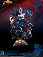 Marvel Comics - Maximum Venom: Captain America (Special Edition) D-Stage Diorama