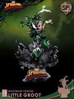 Marvel Comics - Maximum Venom: Little Groot (Special Edition) D-Stage Diorama