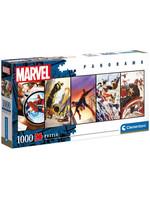 Marvel Comics - Panorama Panels Jigsaw Puzzle (1000 pieces)