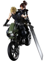 Final Fantasy VII Remake - Jessie, Cloud & Bike - Play Arts Kai
