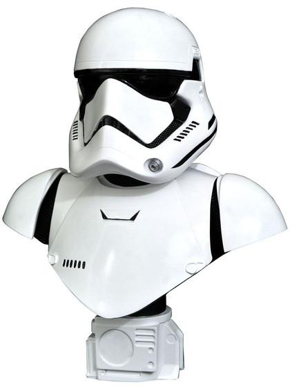 Star Wars Episode VII - First Order Stormtrooper Legends in 3D Bust - 1/2