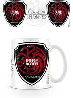 Game of Thrones - Targaryen Fire and Blood Mug