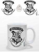 Harry Potter - Hogwarts Crest Black Mug