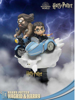Harry Potter - Hagrid & Harry D-Stage Diorama (New Ver.)