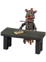Five Nights at Freddy's - Micro Construction Set - Molten Freddy with Salvage Room