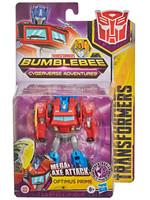 Transformers Cyberverse - Mega Axe Attack Optimus Prime Warrior Class