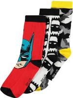 DC Comics - Socks 3-Pack Batman - 39-42